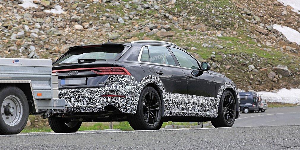 Audi Q8 в спортивной версии превзошел по мощности Lamborghini Urus 1