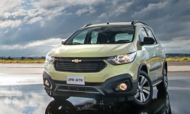 Новый Chevrolet Spin рассекречен 1
