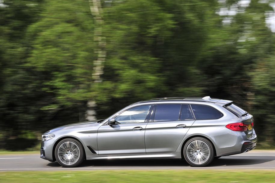 BMW 5-Series победил в конкурсе «Буксировщик года» 1