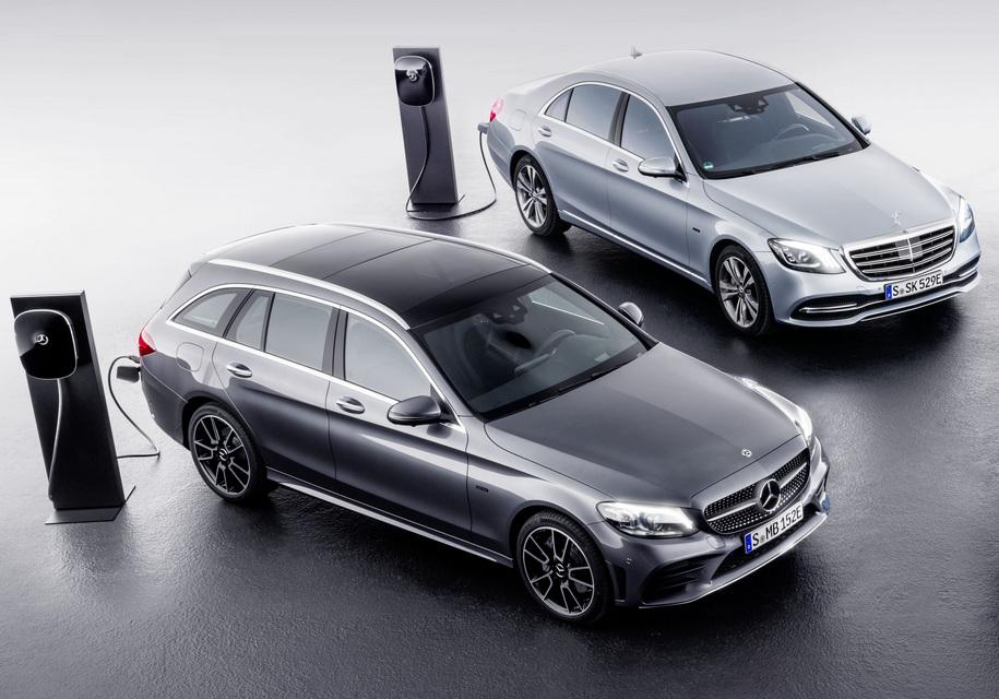 Mercedes-Benz откажется от «подзаряжаемых» гибридов 1