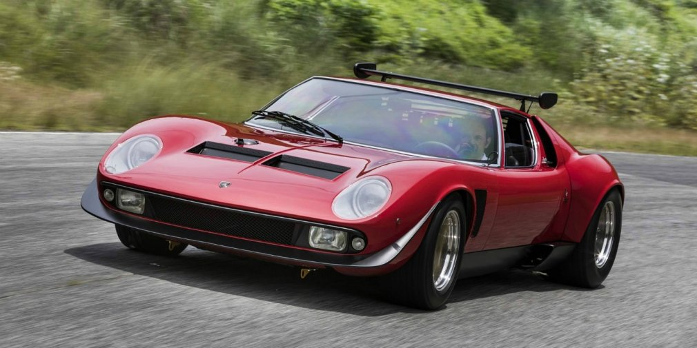 Уникальный Lamborghini 1974 года получил вторую жизнь 1