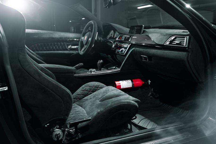 В США построили самую хардкорную версию BMW M4 2