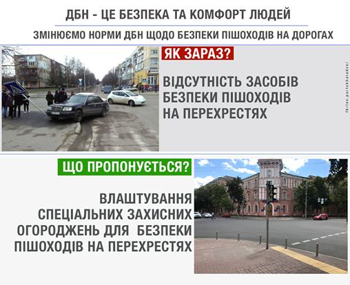 В Украине установят ограждения на перекрестках 1