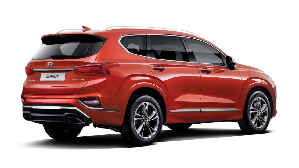 Hyundai Santa Fe получил «люксовую» версию 1
