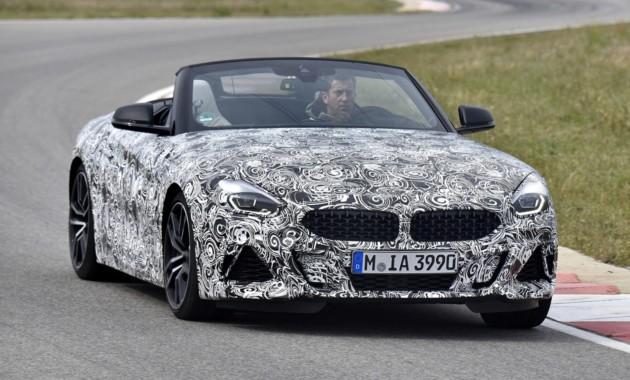 Первые официальные изображения нового BMW Z4 2