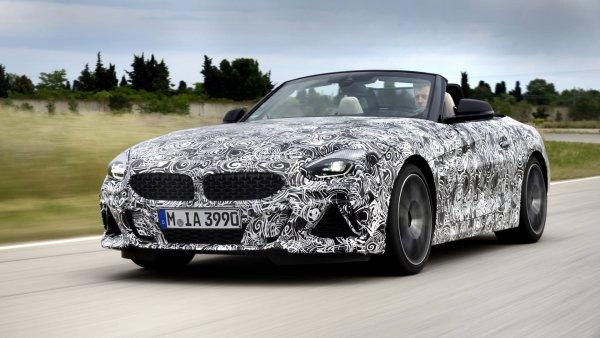 Первые официальные изображения нового BMW Z4 1