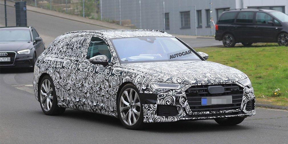 Porsche Panamera поделится двигателем с Audi S6 1