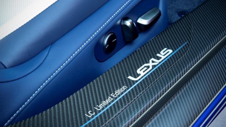 Купе Lexus LC обзавелось спецверсией Morphic Blue Limited Edition 2