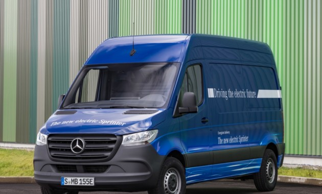 Электрический Mercedes-Benz eSprinter получил 150-километровый запас хода 1