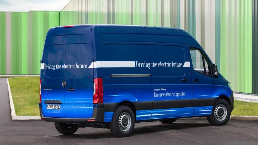 Электрический Mercedes-Benz eSprinter получил 150-километровый запас хода 2