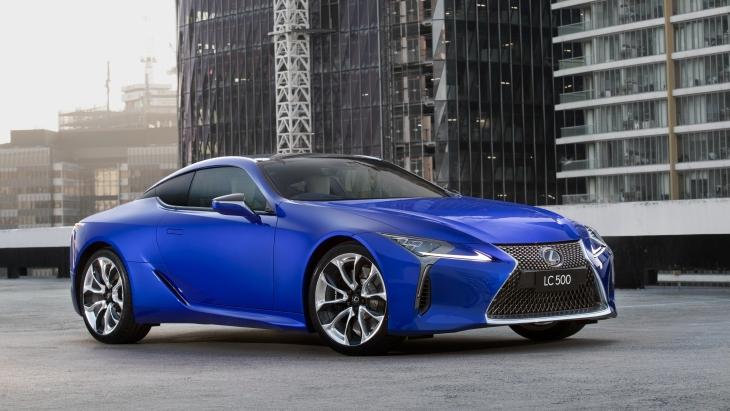 Купе Lexus LC обзавелось спецверсией Morphic Blue Limited Edition 1
