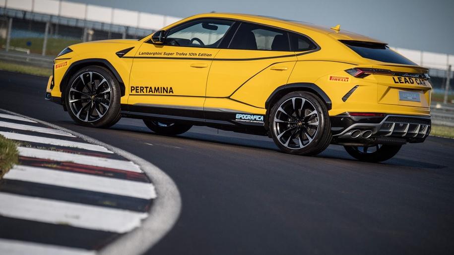 Lamborghini показала «гоночний» Urus 2