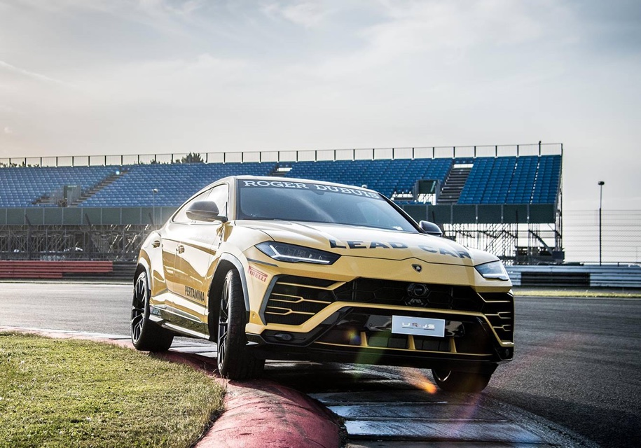 Lamborghini показала «гоночний» Urus 1