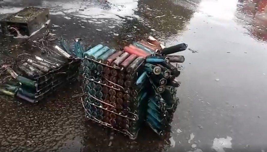 Украинский самодельный электрокар сгорел на дороге 2