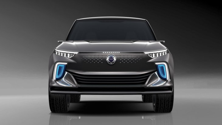 SsangYong Actyon станет гибридом и электромобилем 1