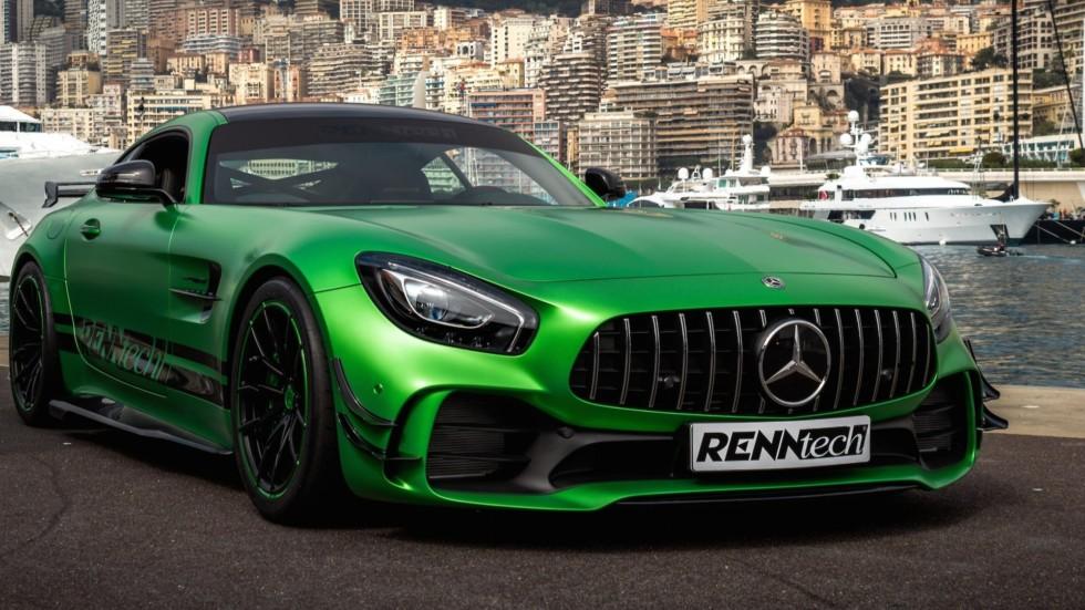 Mercedes-AMG GT R обзавелся 800-литровым мотором 2
