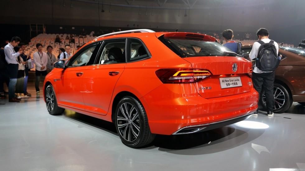 Volkswagen презентовал седан Gran Lavida 2