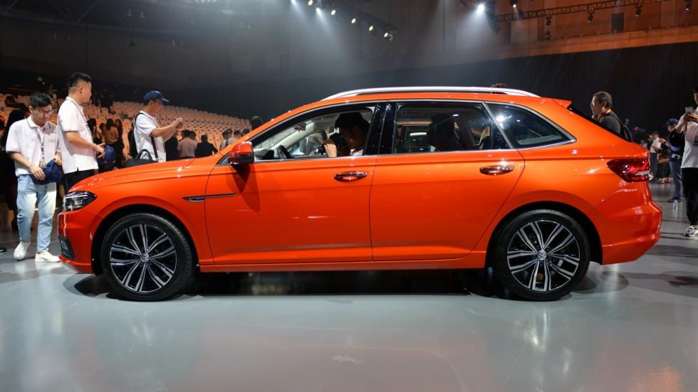 Volkswagen презентовал седан Gran Lavida 3