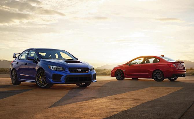 Subaru обновила седаны WRX и WRX STI 1