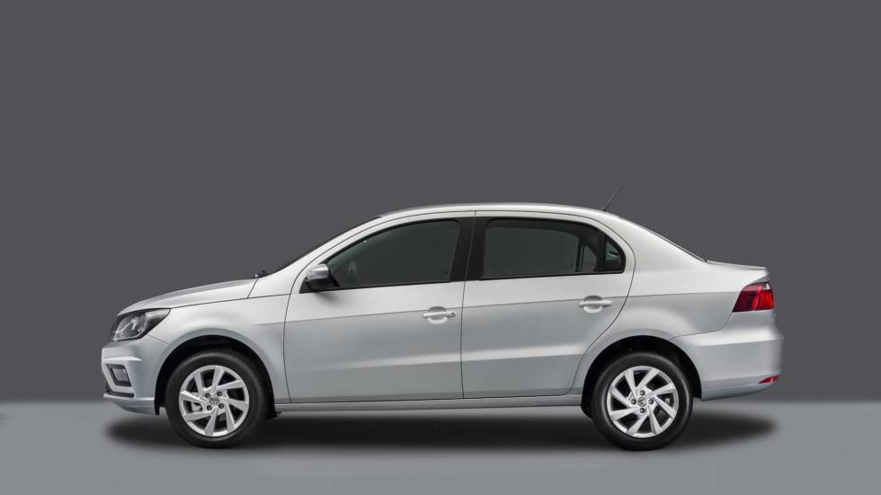 Volkswagen обновил «бюджетники» Voyage и Gol 2