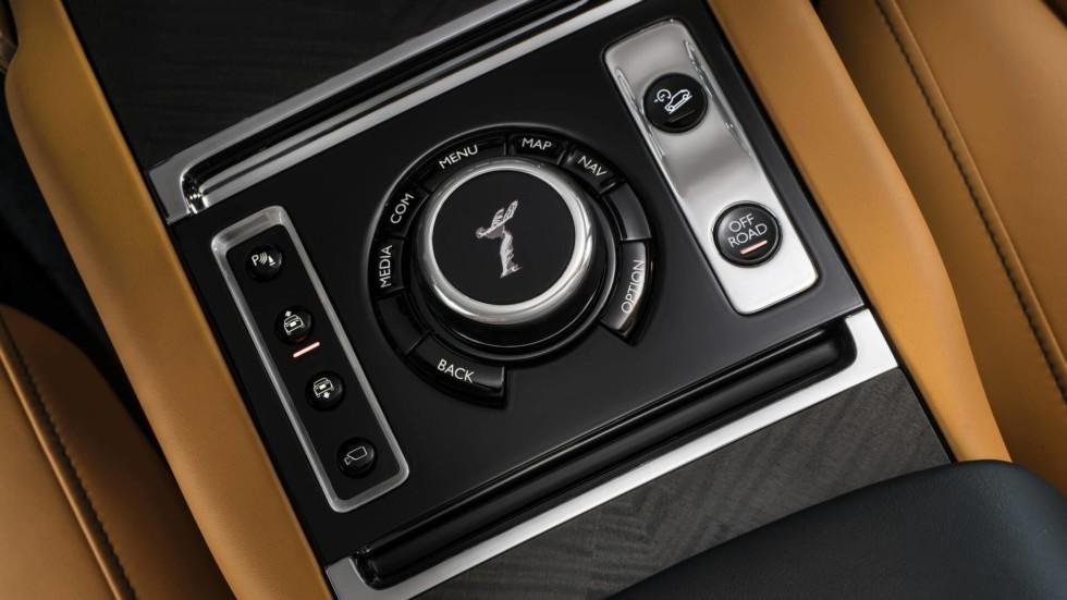Rolls-Royce продолжает рассекречивать кроссовер Cullinan 1