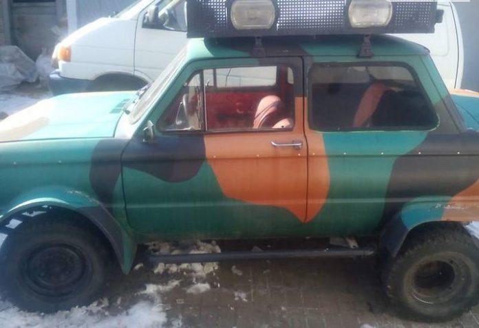 В Украине продают внедорожный «Запорожец» 1