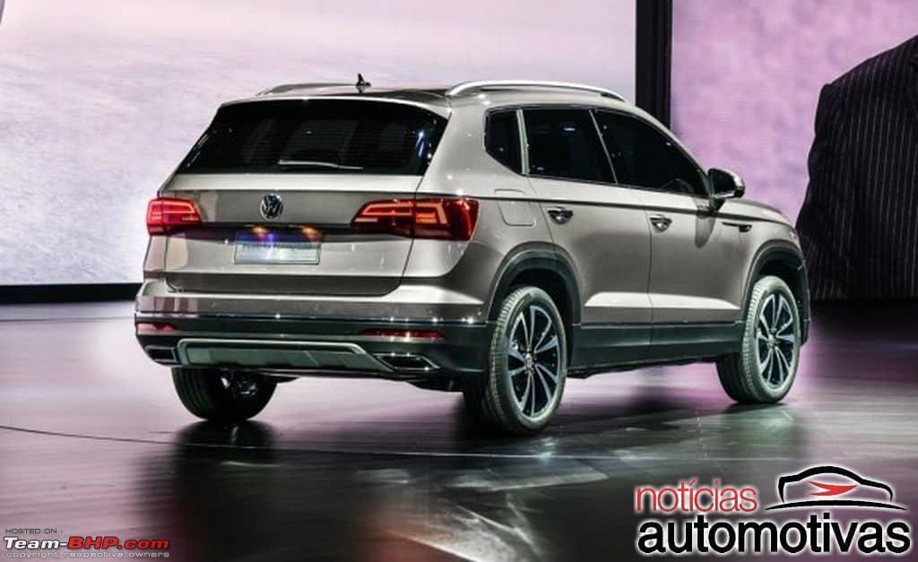 Кроссовер VW Tharu будет выпускаться огромными тиражами 1