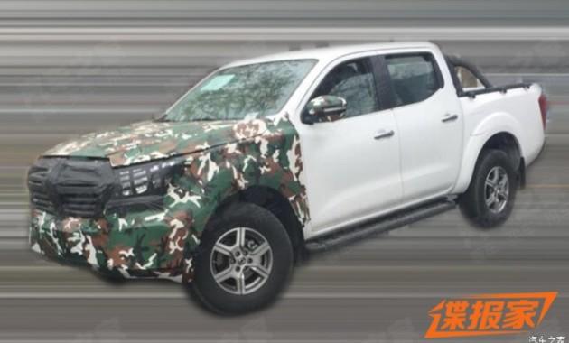 Новый пикап Dongfeng оказался копией Nissan Navara 1