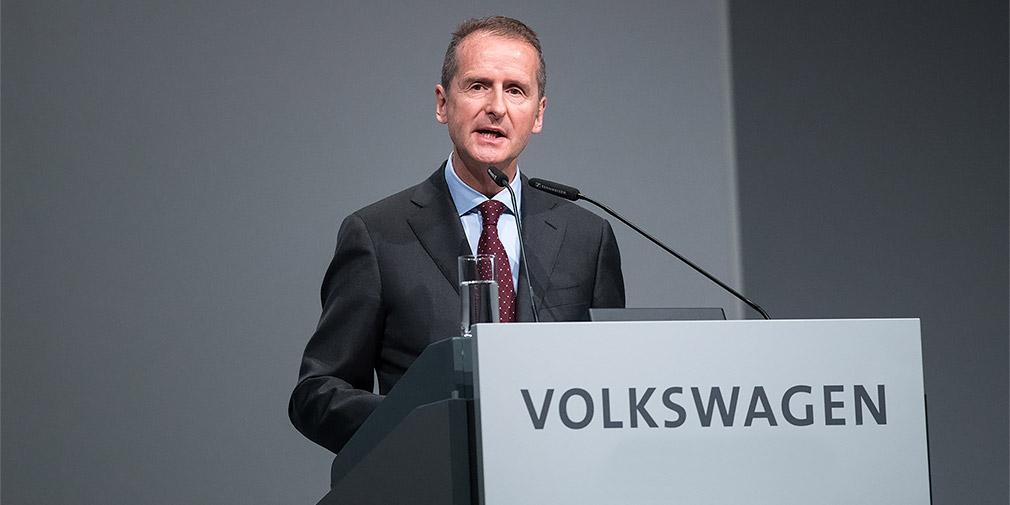 Новый глава Volkswagen дал показания по «дизельгейту» властям США 1