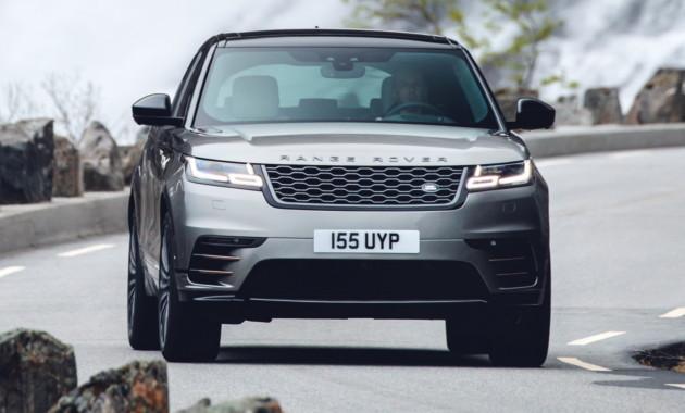 Range Rover освежил Velar 1