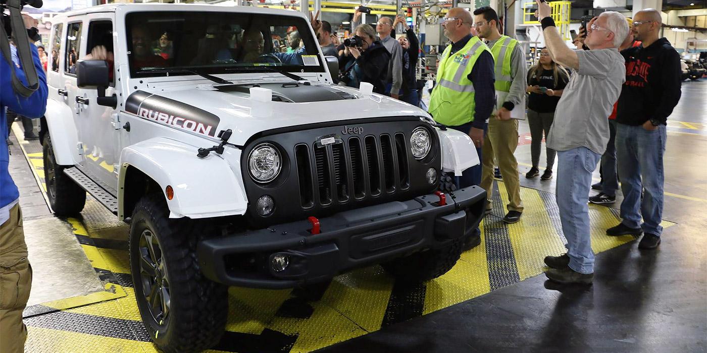 Jeep выпустил последний Wrangler поколения JK 1
