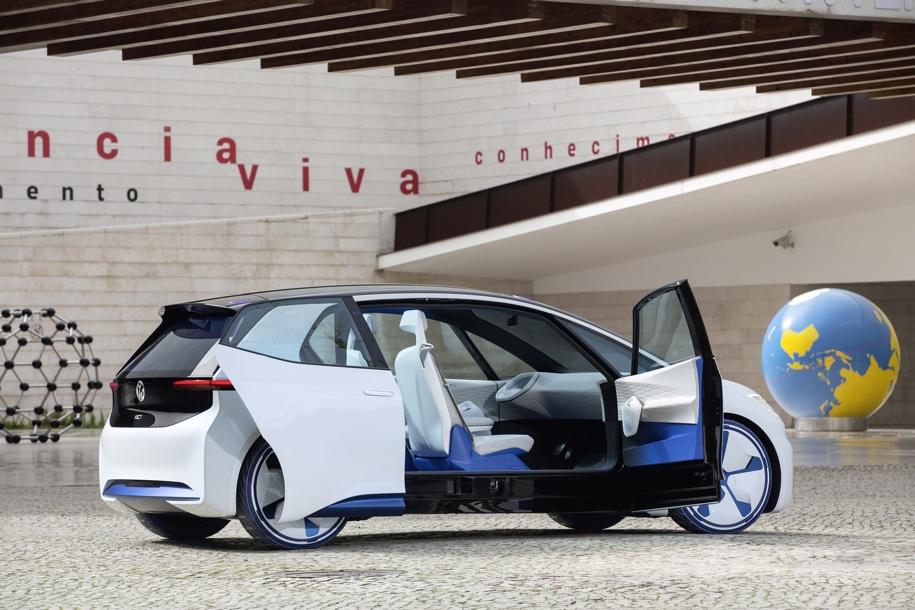Опубликованы изображения первого массового электрокара Volkswagen 2