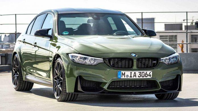 BMW презентовала лимитированную M3 Urban Green 1