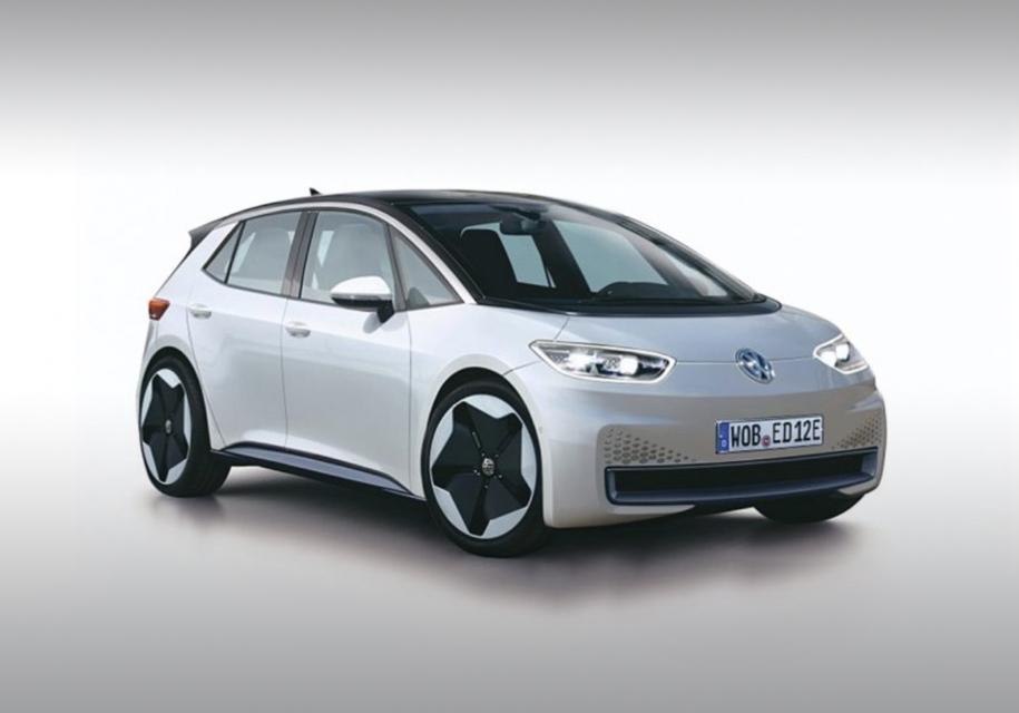 Опубликованы изображения первого массового электрокара Volkswagen 1
