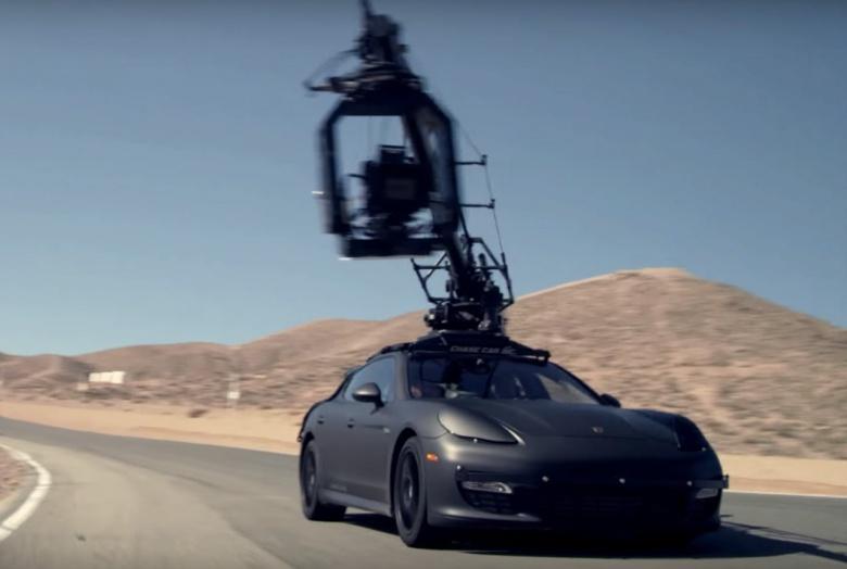Из Lamborghini сделали «самоходный штатив» 2