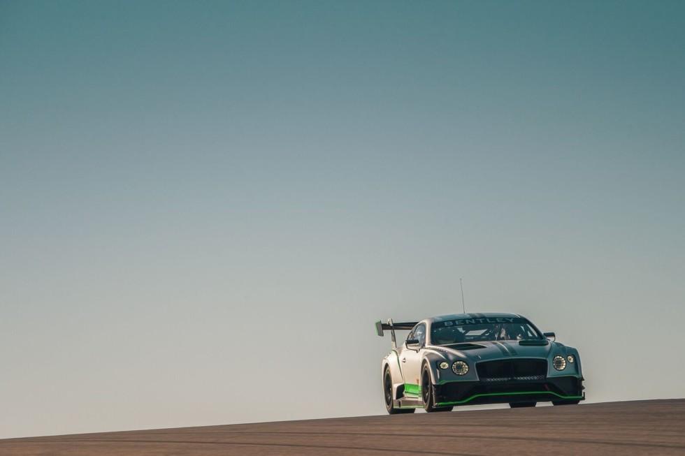 Bentley представит гоночный Continental GT3 второго поколения 1