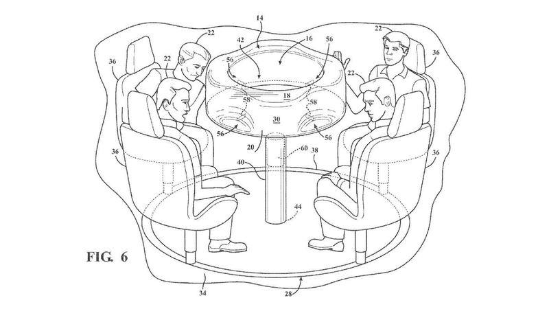 Ford запатентовал автомобиль-карусель 2