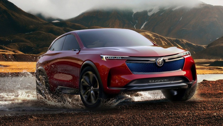 Buick досрочно рассекретил концептуальный кроссовер Enspire 1
