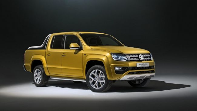 Volkswagen представил самый мощный пикап Amarok 1