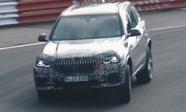 Новый BMW X5 колесит по Нюрбургрингу 1