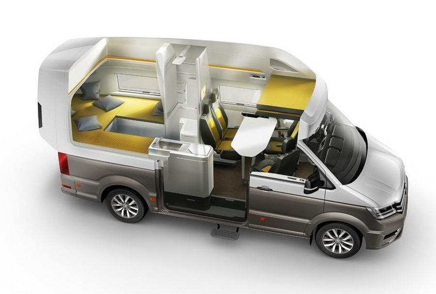 Volkswagen презентует очень крутой автодом 1