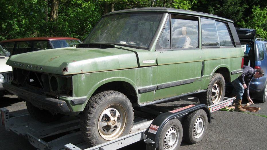 У найденного на ферме Range Rover оказались королевские корни 1