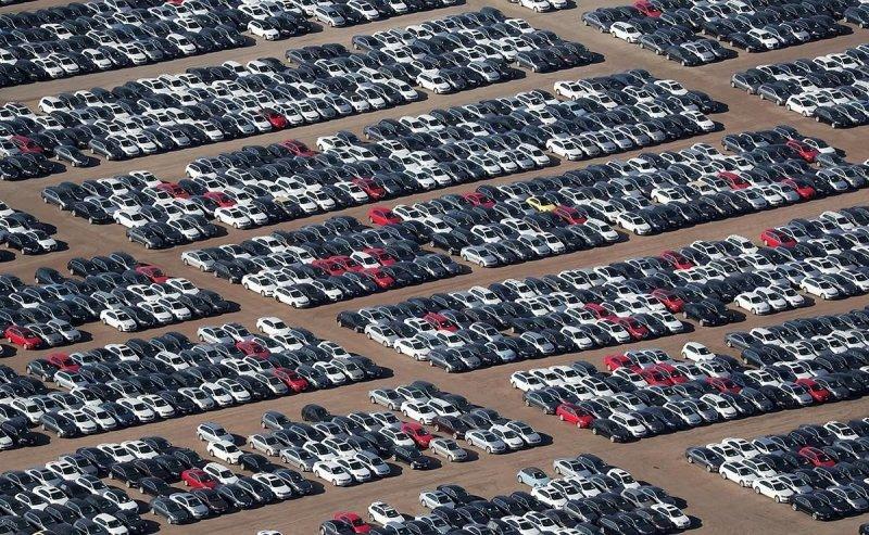 Тысячи новых Volkswagen оставят гнить на стоянке 1
