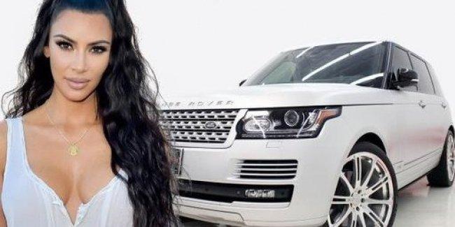 Ким Кардашьян за рекордное время продала дорогостоящий автомобиль Range Rover 1