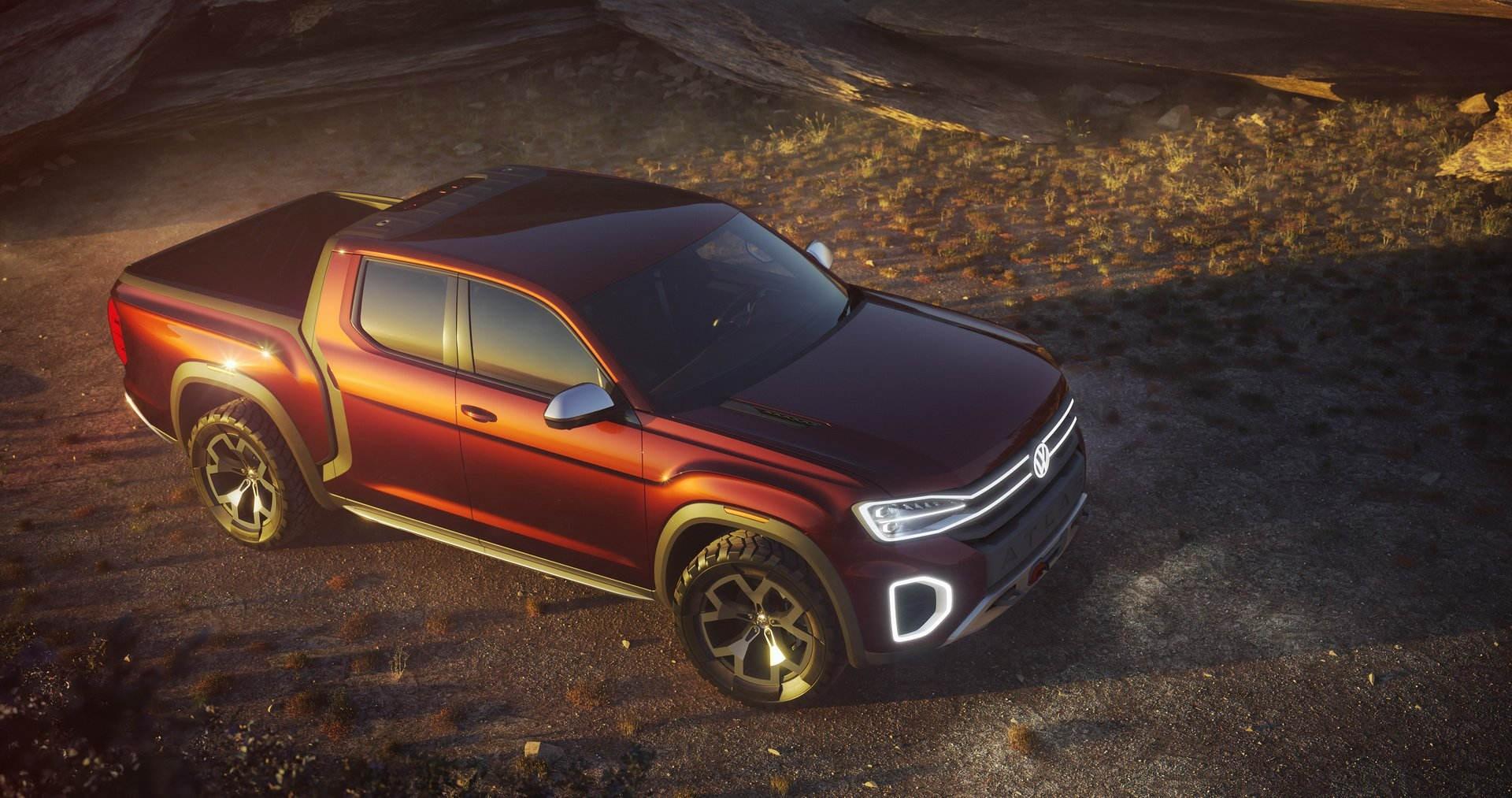 VW сомневается, выпускать ли пикап Atlas Tanoak 1