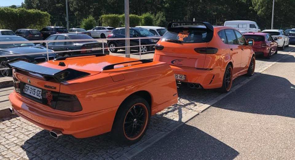Из BMW сделали прицеп для Subaru 1