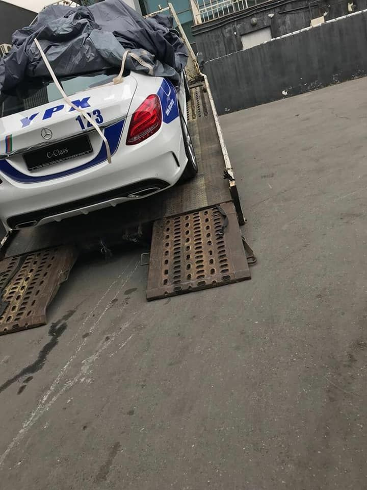 Полиция Баку впервые «променяла» BMW на Mercedes 1