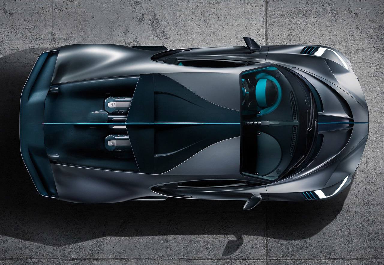Bugatti представила модель, которая «сделана для поворотов» 3