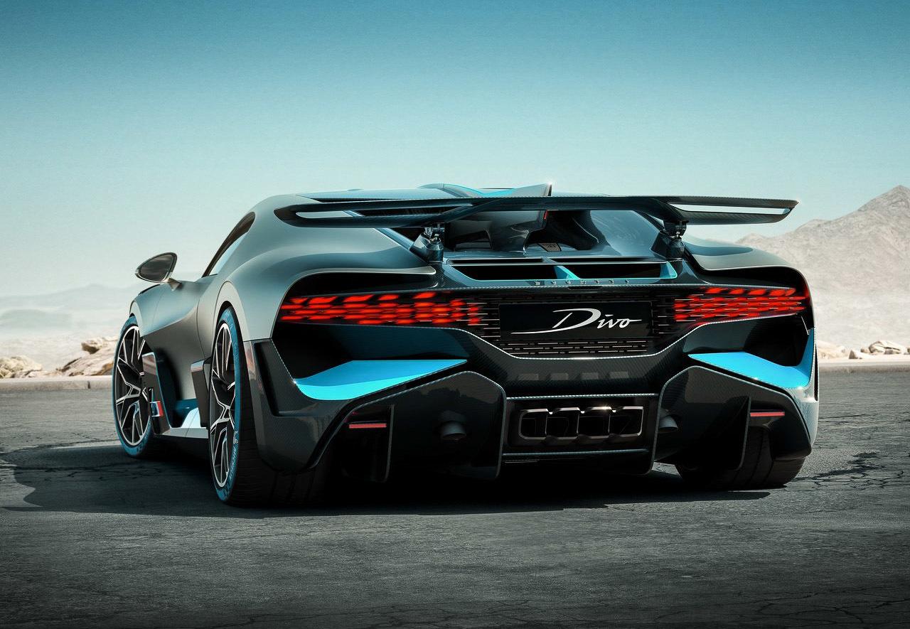 Bugatti представила модель, которая «сделана для поворотов» 4