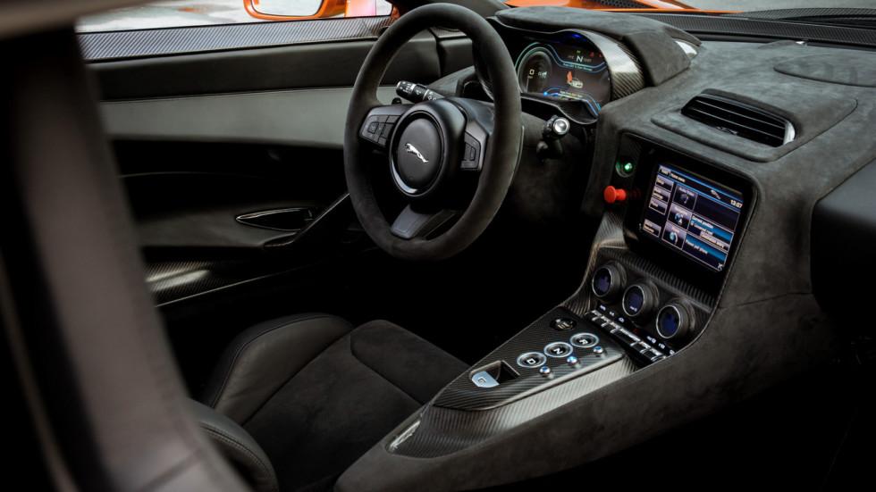 Jaguar строит среднемоторный суперкар 3